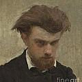 Self-portrait by Henri Fantin-latour