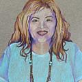 Self-portrait by Jo Thompson