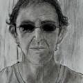 Self-portrait by Michael Brennan