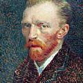 Self Portrait Vincent Van Gogh by Daniel Hagerman