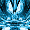 Self Reflection - Blue by Artistic Mystic