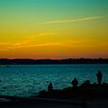 Selfie Sunset by Robert Rotkowitz