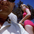 Selfie With Pink Bikini Girl by Unknown