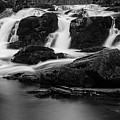 Selkefall, Harz In Black And White by Andreas Levi