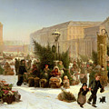 Selling Christmas Trees by David Jacobsen