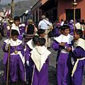 Semana Santa Procession II by Kurt Van Wagner