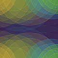 Semi Circle Background Horizontal by Frank Ramspott