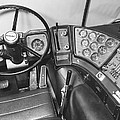 Semi-trailer Cab Interior by Underwood Archives