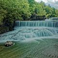 Seneca Mills Waterfall by Doolittle Photography and Art