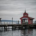 Seneca Lake Pier by Joann Long