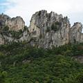 Seneca Rocks Wv by Ruth Housley