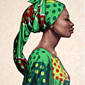 Senegalese Woman by Carla Nickerson