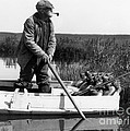 Senior Man Hunting Ducks, C.1920-30s by H. Armstrong Roberts/ClassicStock