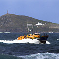 Sennen Cove Lifeboat by Terri Waters