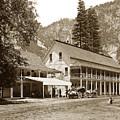 Sentinel Hotel And Ivy And River Cottages Circa 1895 by California Views Archives Mr Pat Hathaway Archives