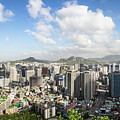 Seoul Cityscape On A Sunny Day by Didier Marti