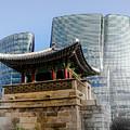 Seoul, Old And New by Peteris Vaivars