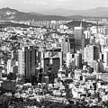Seoul Skyline by Didier Marti