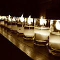 Sepia Candles by Trish Hale
