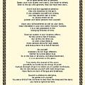 Sepia Chain Desiderata Poem by Desiderata Gallery