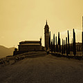 Sepia Church by Andrea Barbieri
