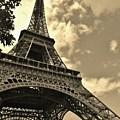 Sepia Eiffel by Victor Carvalho