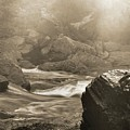 Sepia Moody River by Dan Sproul