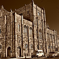 Sepia Toned Building In Harlem by Val Black Russian Tourchin