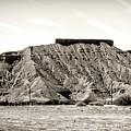 Sepia Tones Nature Landscape Nevada  by Chuck Kuhn