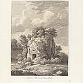 Sepolcro A Falerium Citt? Etrusca Ditrutta by Johann Christian Reinhart