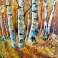 September Aspen by Lorraine Danzo
