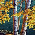 September Birches by Frank Wilson