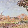 September Morning by Alfred Sisley