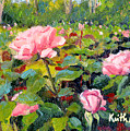 September Roses by Keith Burgess