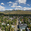 September Skies Over Crested Butte by Dusty Demerson
