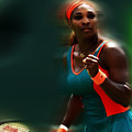 Serena Getting It Done by Brian Reaves