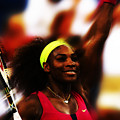 Serena Williams Another Record Set by Brian Reaves