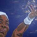 Serena Williams by Rachel Natalie Rawlins