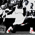 Serena Williams Victory by Brian Reaves