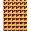 Serendipity Butterflies Brickgoldblue 26 by Christine McCole