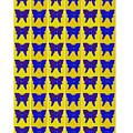 Serendipity Butterflies Brickgoldblue 27 by Christine McCole