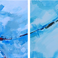 Entangled No.7 - Abstract Painting by Patricia Awapara