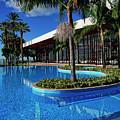 Serene Swimming Pool by Brenda Kean