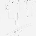 Serengeti Drawing by Charles Stuart