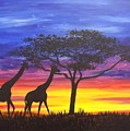 Serengeti Sunset by Darren Robinson