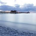 Serenity At Naples Pier by Joseph Skalny