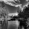 Serenity Below Buttermilk Falls by David Patterson