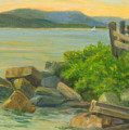 Serenity On The Hudson by Phyllis Tarlow