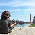 Serenity On The National Mall by Marc Henderson