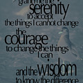 Serenity Prayer 03 by Vicki Ferrari